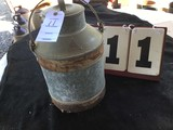 Milk Pail, Metal, Marked No. 15, Approx. 11