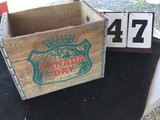 Wooden Box, Stamped Canada Dry On All 4 Sides, D-11, MA 12-66, Approx. 16