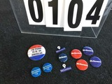Political Buttons: Presidential, McGovern Grouping