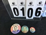 Political Buttons: Presidential, Nixon 3 1/2