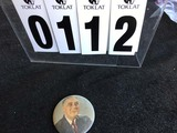 Political Buttons: Presidential, FDR, Picture 3 1/2