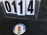 Political Buttons: RFK,