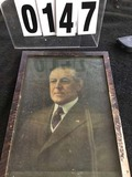 Framed Color Portrait of Woodrow Wilson 15