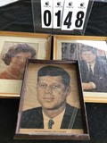 Framed Color Portraits of John F. and Jacqueline Kennedy 15
