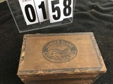 Americana and Tobacco Collectibles: James G. Blaine Cigar Box,