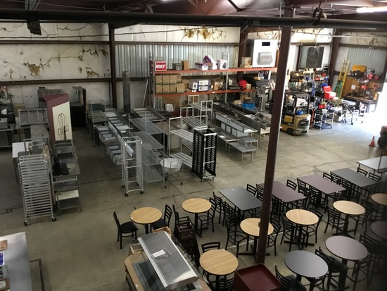 Restaurant Equipment & Decor! Day 2!