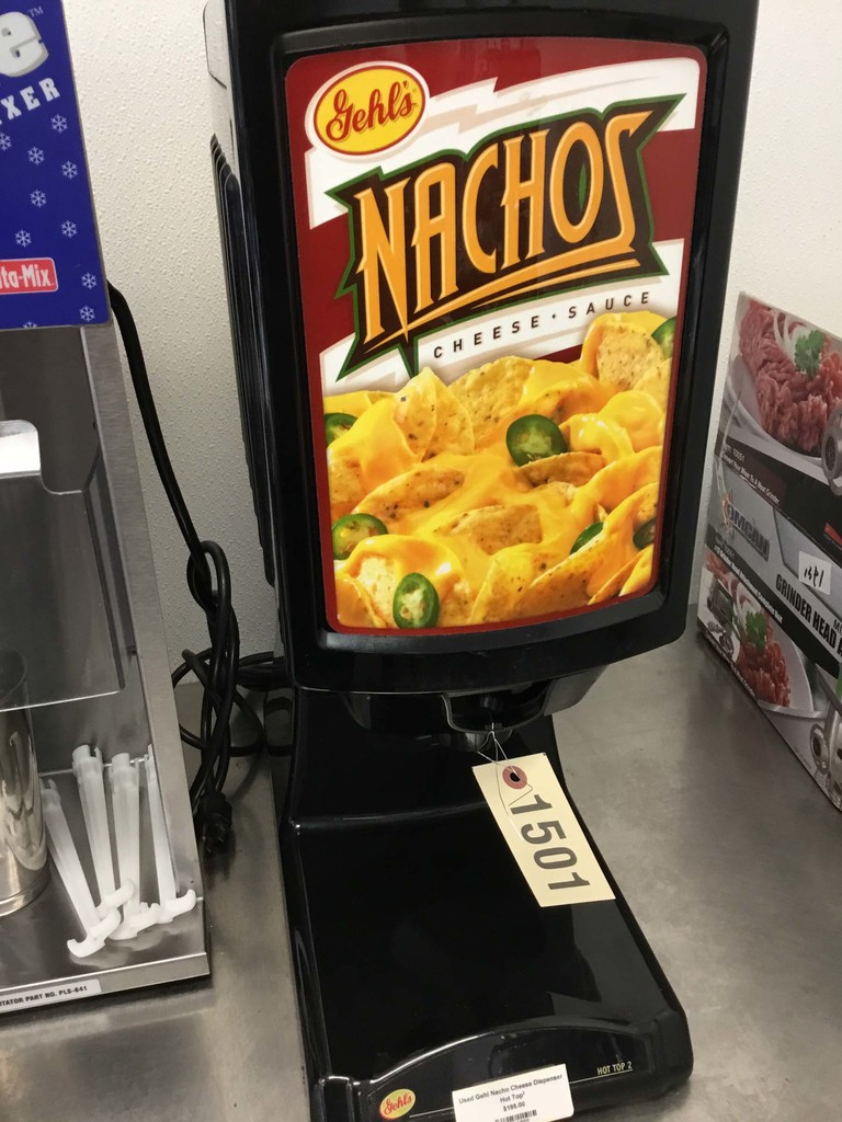 Used Gehl Nacho Cheese Dispenser
