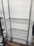 4 Shelf Metro Rack on Casters