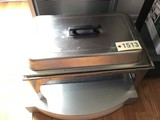 Used SS 8 Quart Chafer with Pan