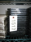 13 Used Black Cambro Trays, 2