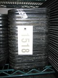 19 Used Black Cambro Trays, 1