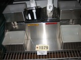 Used San Jamar Condiment Dispenser with 2 Pumps