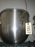 Used 30 Quart Mixing Bowl
