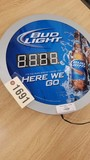 Bud Light Clock, Electric