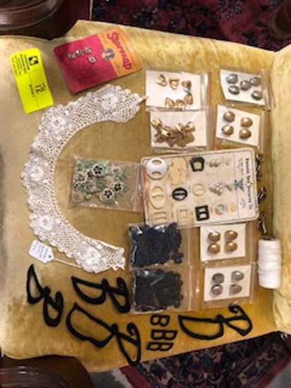Antique Sewing Lot