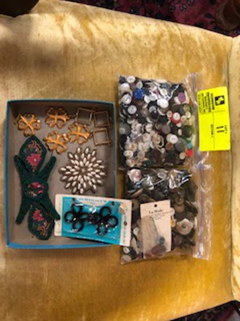 2 Bags of Vintage Buttons
