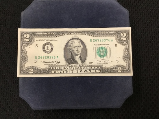 1976 Series United States of America $2 Bill