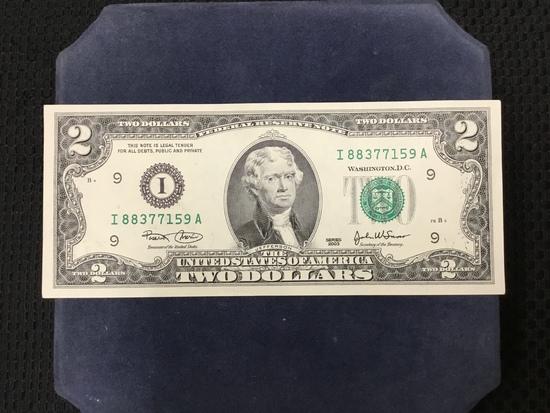 2003 Series United States of America $2 Bill