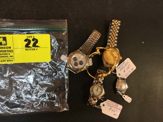 Bag of Fashion Jewelry, Watches