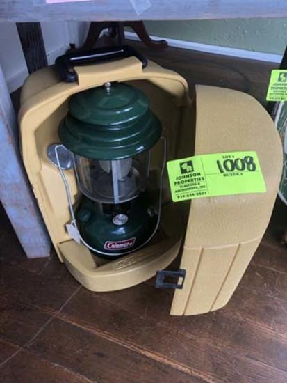 Coleman Model 2205 Gas Lantern in Case