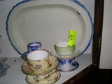 Group of Six Collectible Cups and Saucers