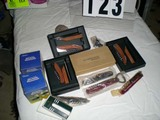 Group of Wine Openers and Wine Bottle Thermometers, some from Alexander Valley, some new in box