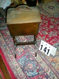 Antique Wooden Sewing Stand, 24