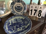Blue and White Charger Plate (14