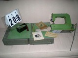 Elna 1950s Grasshopper Model Sewing Machine, Made International Sewing Machine Company