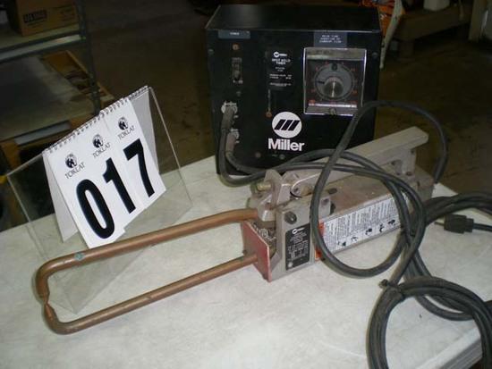 Miller spot welder, style KJ04 timer, Miller MSW41T portable spot welder SR#kj010210