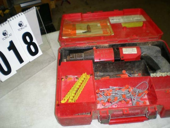 Hilti DX 400 piston drive tool with case