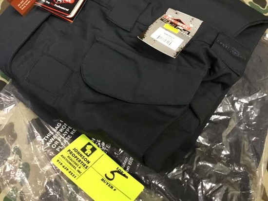 Two Pair Truspec 24-7 Series Tactical Pants, Size 30x34, Navy
