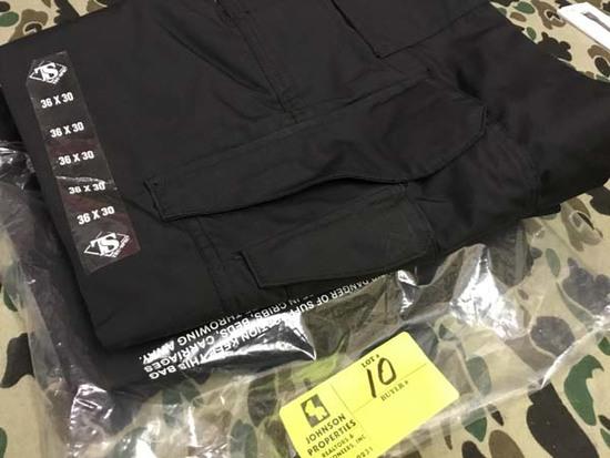 Two Pair Truspec 24-7 Series Tactical Pants, Size 36x30, Black