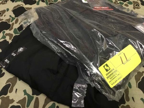 Two Pair Truspec 24-7 Series Tactical Pants, Size 38x30 and Size 38 Unhemmed, Black