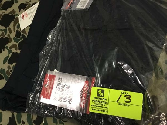 Two Pair Truspec 24-7 Series Tactical Pants, Size 38x34, True Dark Navy