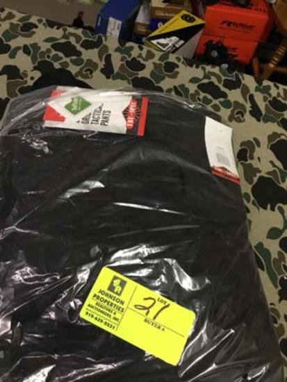 Two Pair Truspec 24-7 Series Tactical Pants, Size 44x30, Black