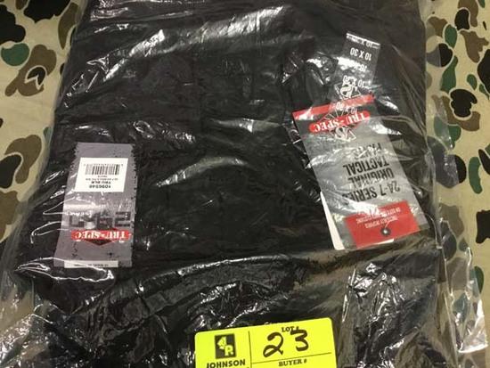 Two Pair Truspec 24-7 Series Tactical Pants, Size 10x30, Black