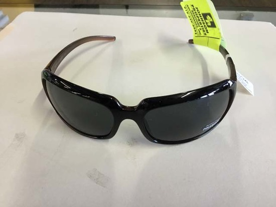 SunCloud Polarized Optics Sunglasses, Poppy Black Backpaint Frames