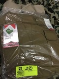 Two Pair Truspec 24-7 Series Tactical Pants, Size 44x30, Tan and Khaki