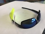 SunCloud Polarized Optics Sunglasses, Voucher Black Frames with Blue Lenses