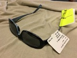 Maui Jim Punchbowl Sunglasses, Matte Dove Blue Frames with Gray Lenses, +3.00, #219-03