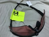 Oakley Safety/Shooting Glasses, #009146-20, Black Frames