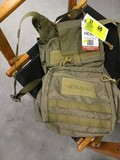 Drago Tactical Gear Collapsible Backpack, Task Force Collection, #14 303TN