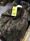 Camo Duffle Bag with Back Straps and Handle
