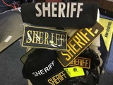 Sheriff Cap, Sheriff Patches, and Sheriff Zippered Pouch