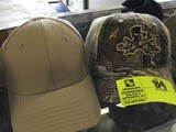 Salt Life Camo Bill Mesh Back Cap and Propper Khaki Six Panel Cap