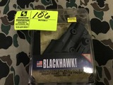 Black Hawk Serpa Concealment Holster, Right, Ruger P85/89, Paddle and Belt Loop