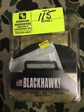 Black Hawk Serpa Concealment Holster, Left, Glock, 17/22/31, Paddle and Belt Loop