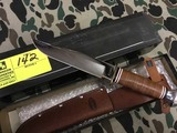KA-BAR 1236 Bowie Knife, Blade is approx. 7