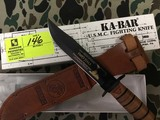 KA-BAR Collector's USMC Knife